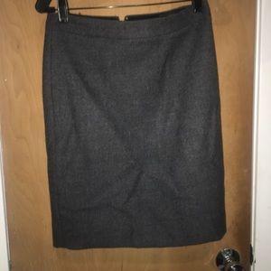 J. Crew Gray wool skirt!